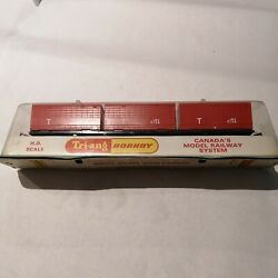 Triang/Hornby R7340 Canadian Freightliner ''T CTI'' Container Wagon. OO Gauge New