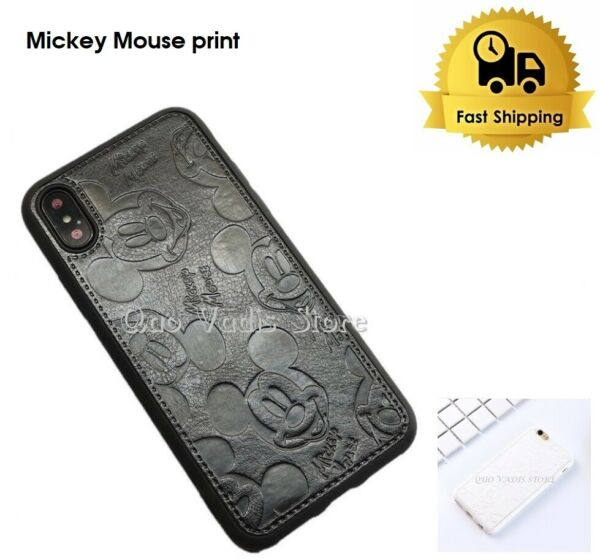 SpanienCOVER CASE MICKEY MOUSE SOFT  PU LEATHER FOR APPLE IPHONE SERIES