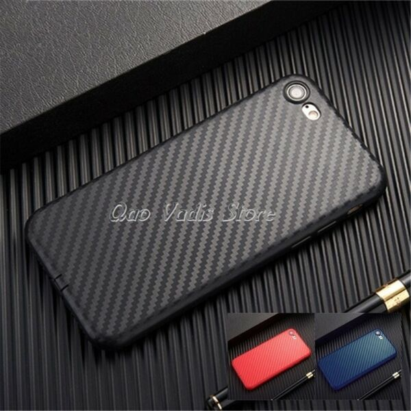 SpanienCOVER CASE IN TPU  SOFT CARBON FIBRE ULTRA SLIM FOR APPLE IPHONE SERIES