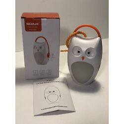 Kyпить SOAIY OWL SOUND MACHINE A-SF02 PORTABLE BABY SLEEP SOOTHER WITH NIGHT LIGHT на еВаy.соm