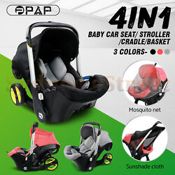 Kyпить Baby Infant Car Seat Stroller Combos 4 in 1 for newborn, light weight for travel на еВаy.соm