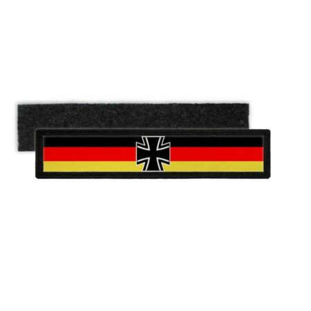 img-Patchbw Germany Name Plate Bundeswehr Black Red Gold Touch Fastener #25146