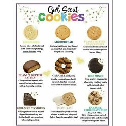 Kyпить ????2021 GIRL SCOUT COOKIES- MUST BUY SIX / 6 or MORE BOXES Your Choice ABC Bakers на еВаy.соm