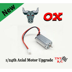 Kyпить Ox 050 Brushed Axial 1/24 scale BOLT IN Motor Upgrade Free Ship! Barrage SCX24 на еВаy.соm