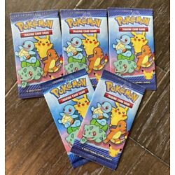 Kyпить 2021 Mcdonalds Happy Meal Pokemon 25th Anniversary 5 Sealed Packs In Hand RTS на еВаy.соm