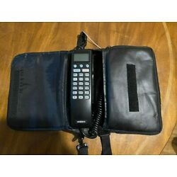 Kyпить Vintage 1993 Uniden CP 1900A Mobile Brick Car Phone Cell Carrying Case Untested на еВаy.соm