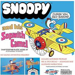 Kyпить ATLANTIS TOY & HOBBY INC. Snoopy and His Sopwith Camel Snap Kit на еВаy.соm