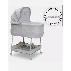 Kyпить Simmons Kids Silent Auto Gliding Elite Bassinet Basketweave  на еВаy.соm