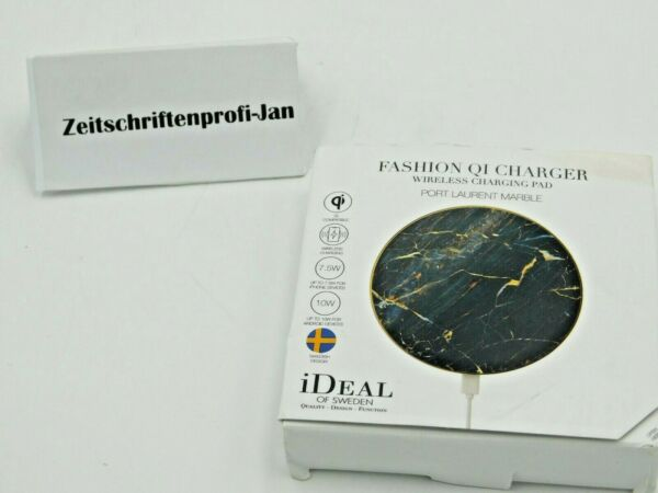 Essen,DeutschlandFashion QI Charger - Wireless Charching pad  iDeal of Sweden Port Laurent Marble