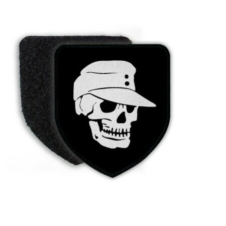img-Patch Skull Army Field Cap Infantry Bundeswehr Mountain Infantry Head WH #21432