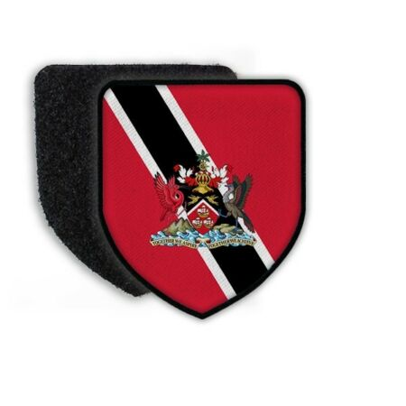 img-Patch Flag From Trinidad And Tobago Emblem Sew-On Flag Land #21451