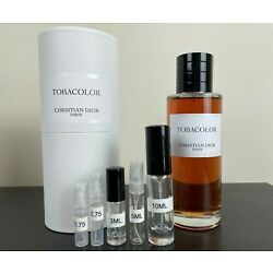 Kyпить Dior Tobacolor EDP 2.75ml 5ml 10ml Samples на еВаy.соm