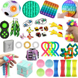 Kyпить 1-25X Fidget Toys Set Stress Relief Hand Toy Kids Adults US Sensory Tools Bundle на еВаy.соm