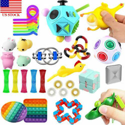 Kyпить 5-25pcs Fidget Toys Set Stress Relief Sensory Tools Bundle ADHD Kids Adults US на еВаy.соm