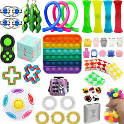 Kyпить Sensory Tools Bundle Stress Relief Kids Adults 1-25Pcs Push Fidget Toys Set Hot на еВаy.соm