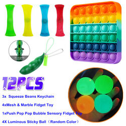 Kyпить 12 Pack Fidget Toys Set Sensory Stocking Stuffer For Stress Relief Anti-Anxiety на еВаy.соm