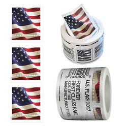 Kyпить USPS 2017 US Flag Forever America Postage Stamps Roll of 100 Stamps Free на еВаy.соm