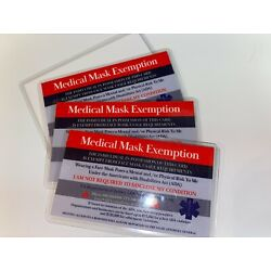 Kyпить 3 Laminated Exemption Cards  with FREE SHIPPING на еВаy.соm