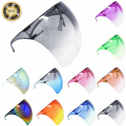 Kyпить Clear Face Shield Mask Transparent Reusable Glasses Visor Anti-Fog Goggles Lot на еВаy.соm