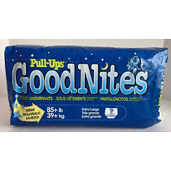 Kyпить 1 NEW Vintage 1994 Pull-ups GoodNites XL 9 Ct Pack Underpants ~ RARE HTF PROP на еВаy.соm