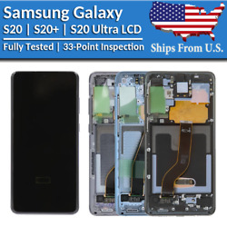 Kyпить Samsung Galaxy S20 | S20 Plus | S20 Ultra LCD Replacement Screen Digitizer (A) на еВаy.соm