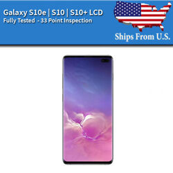 Kyпить Samsung Galaxy: S10E | S10 | S10 Plus LCD Replacement Screen Digitizer Frame (A) на еВаy.соm