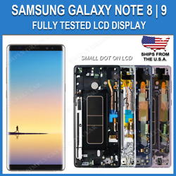 Kyпить OEM Samsung Note 8 | 9 LCD Replacement Screen Digitizer With Frame (Dot-A) на еВаy.соm