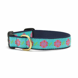 Up Country Dahlia Darling Dog Collar - Large