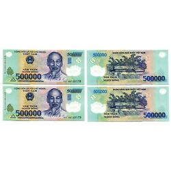 Kyпить 1 Million Vietnam Dong currency = 2 x 500000 500,000 dong , Circulated на еВаy.соm