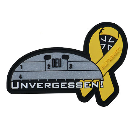 img-3D Patch Unforgotten Yellow Bow Alfashirt Dog Tag Bundeswehr #32706