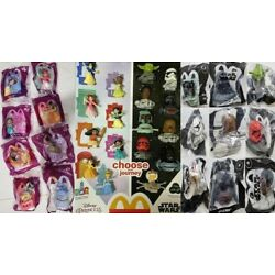 Kyпить MCDONALD'S 2021 Disney's Princess & Star Wars - ON HAND - GET YOUR TOYS OR SET  на еВаy.соm