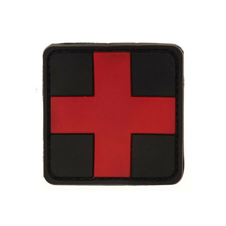img-Medic Patch First Assistant Arzt Airsoft First Aid Emblem 3D Cross 5x5cm #20303