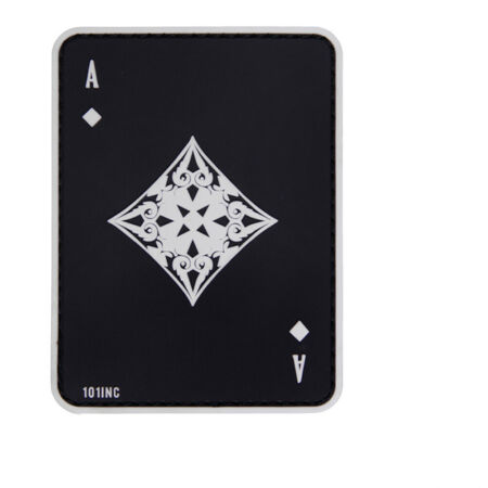 img-Caro Ass 3D Rubber Patch Card Game Airsoft Big Game Poker 8x6cm #31322