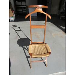 Kyпить Danish Modern Ico Parisi Valet Chair with Rope Seat на еВаy.соm