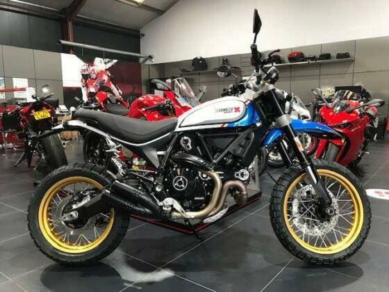 Ducati Scrambler 800 Desert Sled 2021 Model - JUST ARRIVED IN STOCK - 1 ONLY!!