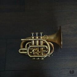 Kyпить Carolbrass POCKET trumpet BIG BELL 5.25 CPT 3000 GLSD, case | GAMONBRASS на еВаy.соm