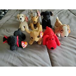 Kyпить Ty beanie babies dog lot with Tags1996-2000 на еВаy.соm