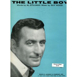 Kyпить 1963 Sheet Music ~ THE LITTLE BOY ~ Tony Bennett ~ Rare! на еВаy.соm
