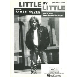 Kyпить 1994 Sheet Music ~ LITTLE BY LITTLE ~ James House ~ NEW! Rare! на еВаy.соm