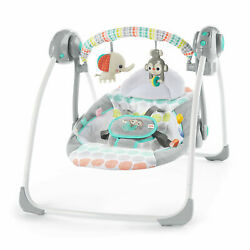 Kyпить Bright Starts Whimsical Wild Portable Baby Swing 2-Position Recline Automatic на еВаy.соm