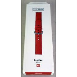 Strap Studio Leather Watch Band - Samsung Galaxy Watch Active 40mm - Red