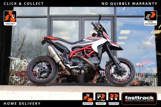 DUCATI HYPERMOTARD 821 SP 2013 13 - FULL SERVICE HISTORY - DELKEVIC EXHAUST
