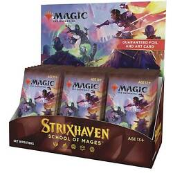 Kyпить Strixhaven Set Booster Box 30 ct. NEW AND SEALED STX MTG  на еВаy.соm