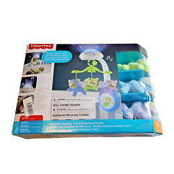 Kyпить Fisher-Price Butterfly Dreams 3-in-1 Projection Mobile - Multi на еВаy.соm