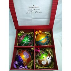 Kyпить Waterford Holiday Heirlooms North Pole Collection, Set of 4, The Four Seasons  на еВаy.соm