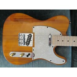 Kyпить ~Cashner~ Natural Telecaster Style Guitar: White Pearloid на еВаy.соm