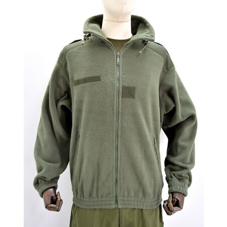 img-French Army ECW Fleece Cold Weather Thick Jacket Military Issue RARE Sizes NATO