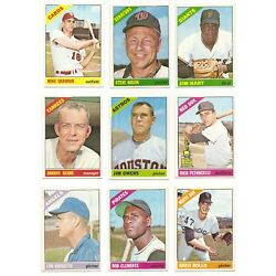 Kyпить 1966 Topps Series 4 (284-370) * You Pick * Conditions Listed на еВаy.соm