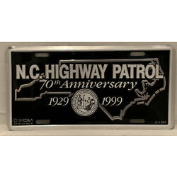 Kyпить North Carolina State Highway Patrol Aluminum License Plate Novelty Sign на еВаy.соm