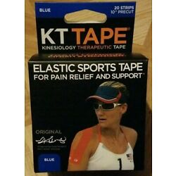 Kyпить KT Tape Kinesiology Therapeutic Elastic Sports Roll 20 Strips 10